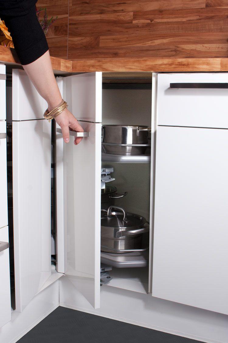 Eckschrank Küche - Ihr Küchenfachhändler aus Erftstadt: KüchenTreff ...